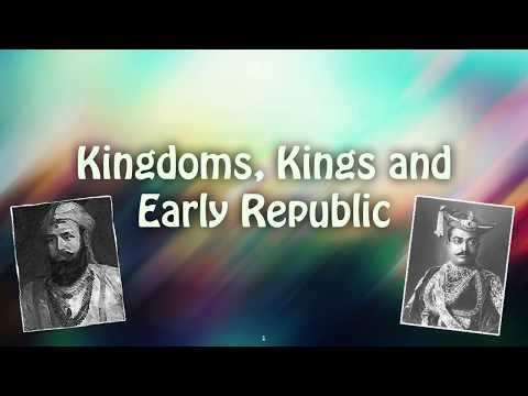 KINGS, KINGDOMS & ANCIENT REPUBLICS OF INDIA   Keynote Presentation
