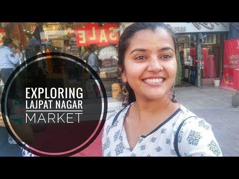 Lajpat Nagar Market Delhi   Central Market   Rj Himani   Wanderlust Born to Travel