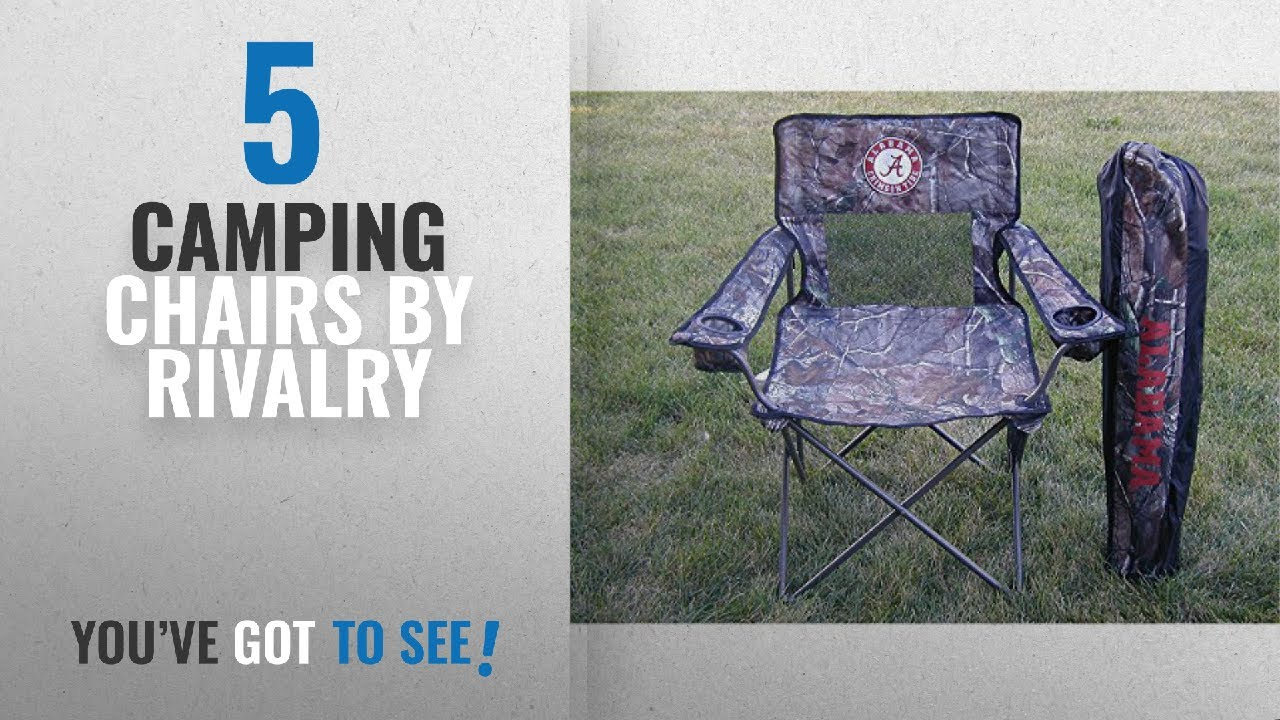 Top 10 Rivalry Camping Chairs [2018]: Rivalry Collegiate Realtree Camo Chair