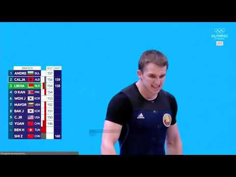Вадим Лихорад (BLR) - Men 73kg, IWF World Championships, Pattaya 2019