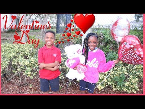 YAYA Has A Valentine Prank On Dad