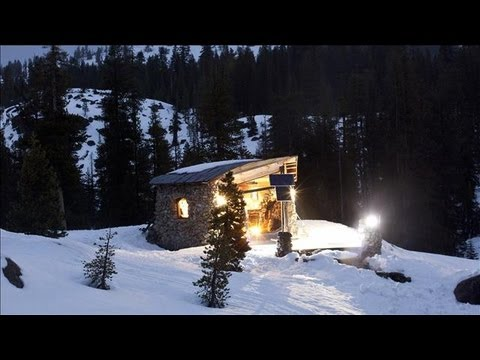 Snowboarder Mike Basich's Tiny Cabin With a Giant View