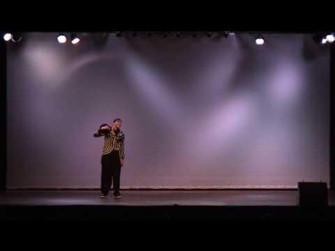 Salah Dance - Popping Freestyle Show (Part 3 of 3) / URBAN DANCE SHOWCASE
