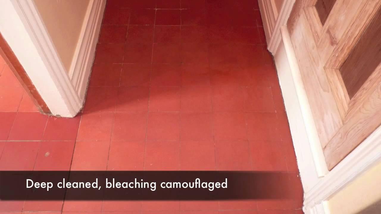 Quarry Tile Floor Restoration Leeds - YouTube