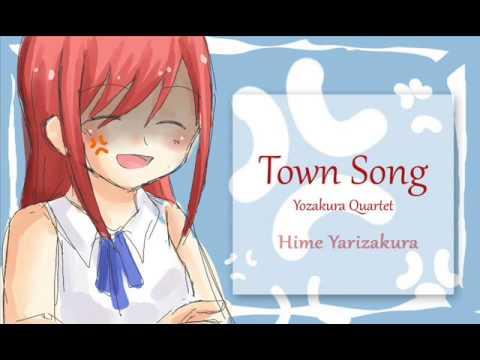 Town Song - Hime Yarizakura with Lyrics