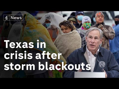 Texas storm: Millions left without power and residents told