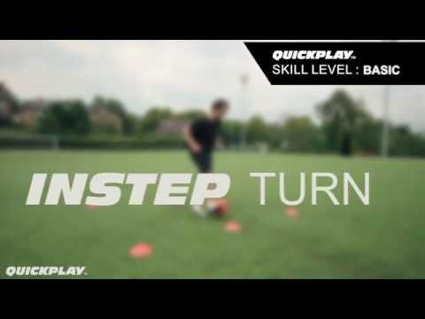 ECOACH Football Training - Instep Turn