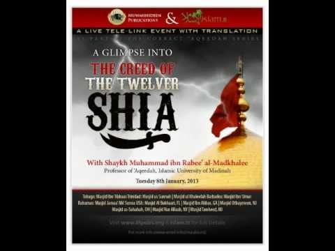 A Glimpse Into The Creed of The Twelver Shi'a - Part 1