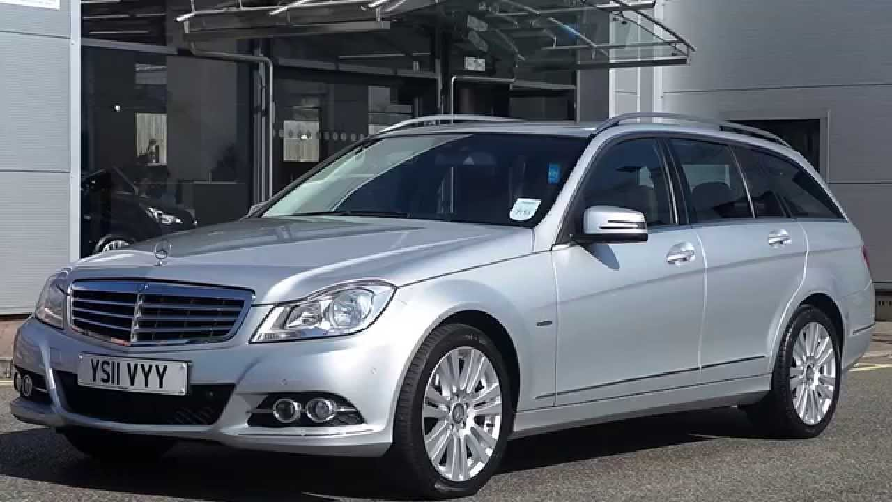 2011 11 plate mercedes benz c class c220 cdi blueefficiency elegance estate auto youtube. Black Bedroom Furniture Sets. Home Design Ideas