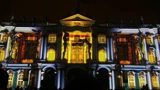 Лучшее световое шоу! Фестиваль света в Санкт-Петербурге
