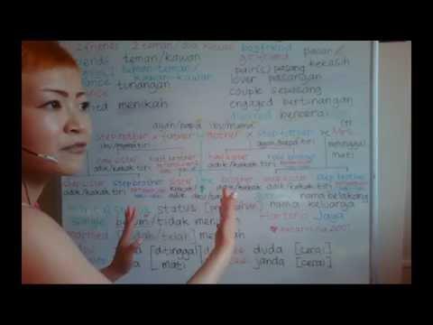 LEARN INDONESIAN LANGUAGE #32 MARITAL STATUS