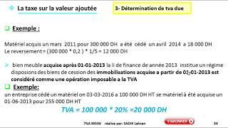 #EP 5 fiscalisé: la taxe sur la valeur ajoutée  4/4