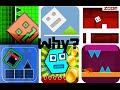 Playing Geometry Dash Copies