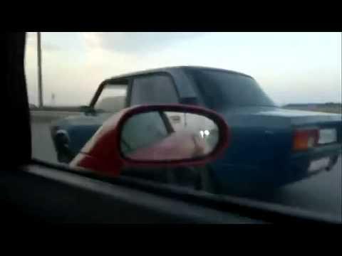 Уличные гонки ВАЗ 2107 против корвет - YouTube