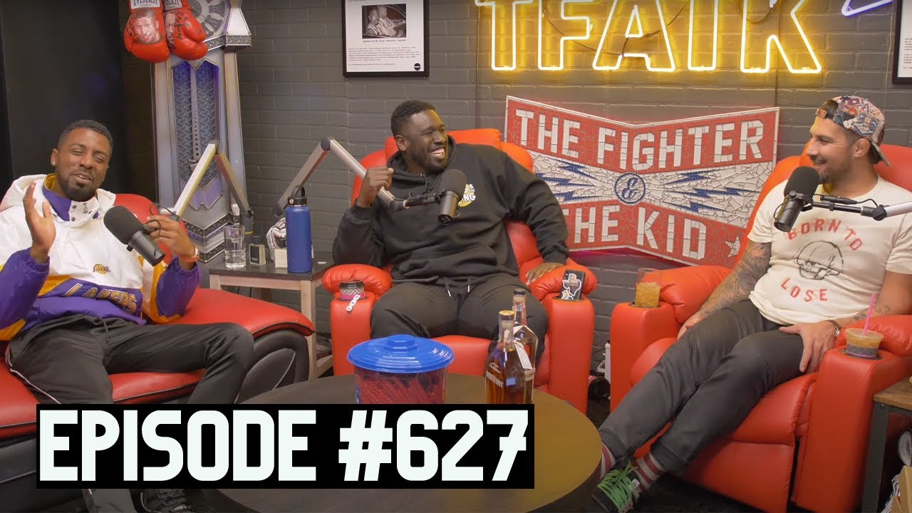 The Fighter And The Kid Episode 627 Youtube The human cockroach josh potter gets to do something special today. the fighter and the kid episode 627