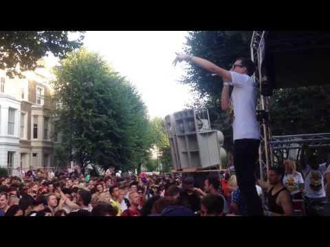 Suggs last tune @ Digital Soundboy - Notting Hill Carnival 2013