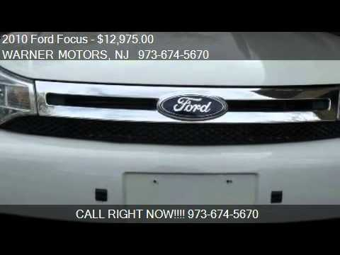 East Orange Focus >> 2010 Ford Focus Se Sedan For Sale In East Orange Nj 07017 A Youtube