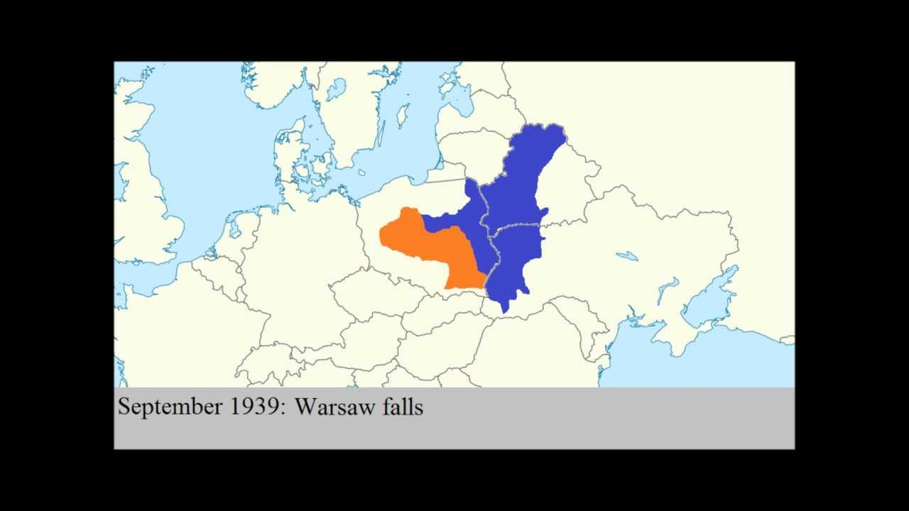 Ww2 Poland Map.Poland During Ww2 Youtube