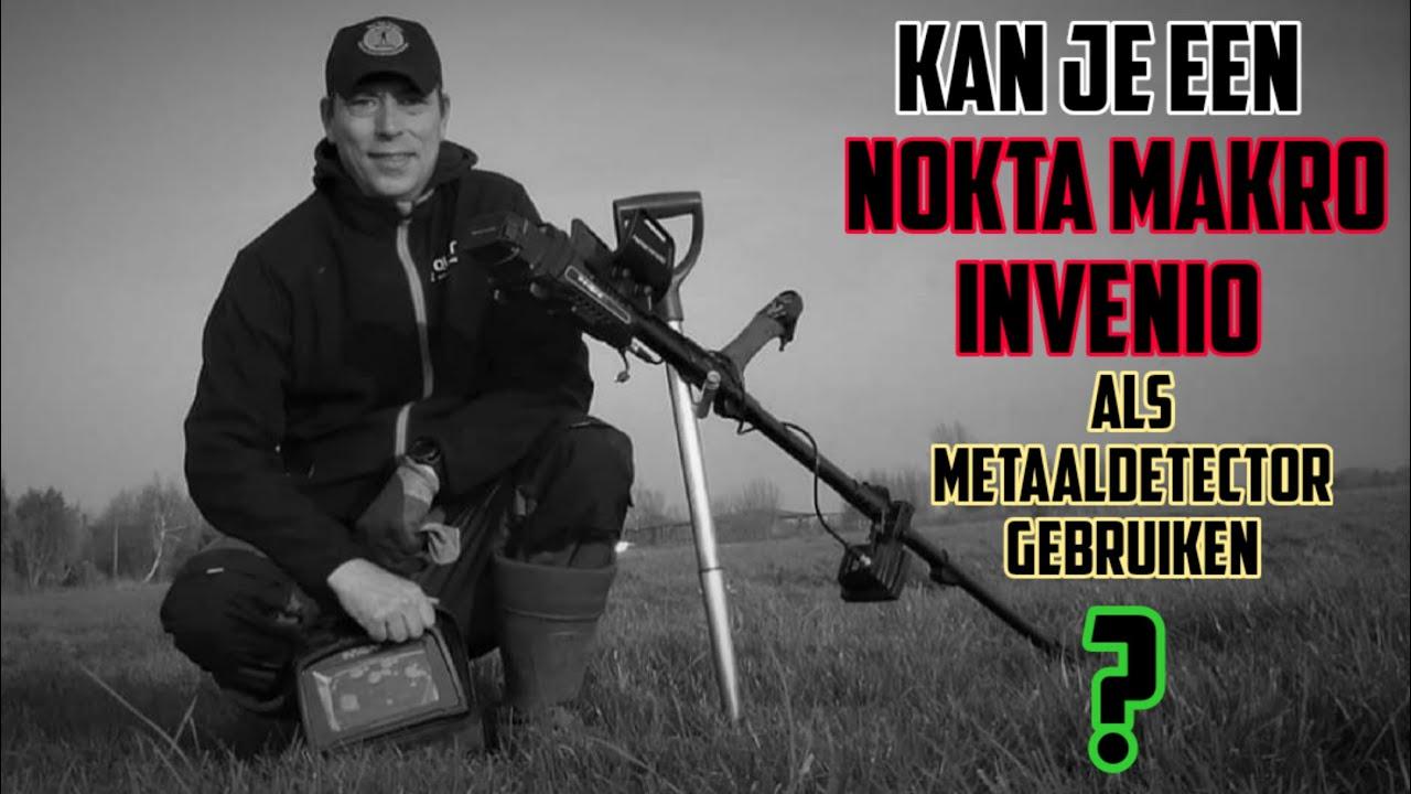 Zoeken met een Nokta Makro invenio  metaaldetector