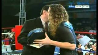 Silvana Carsetti premiada en San Juan junto a Boxeo de Primera