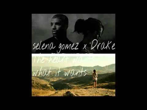 Selena Gomez x Drake-The heart wants what it wants