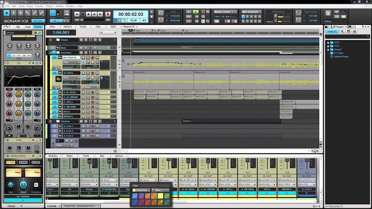 Cakewalk Sonar X3 Music Produc...