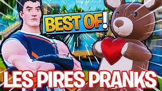 BEST OF DES PIRES PRANKS QUE J'AI FAIS A THEKAIRI78 SUR FORTNITE BATTLLE ROYALE