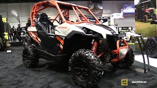 2017 Can Am Maverick DPS 1000R Side by Side ATV - Walkaround - 2016 AIMExpo Orlando