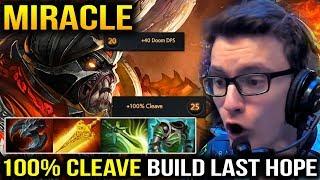 Miracle Doom Bringer 100% Cleave Build vs Mega Creep the Last Hope