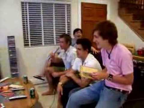 UK soccer coaches karaoke 1