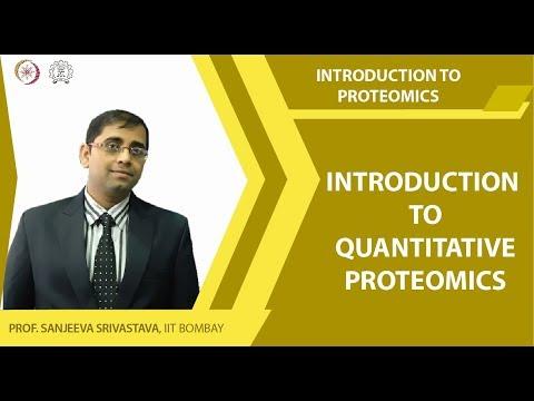 Introduction to quantitative proteomics