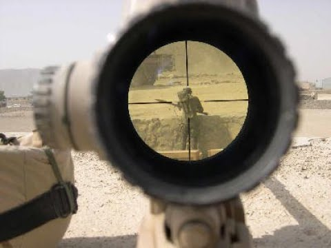 Sniper's Kill Taliban During Operation Helmand Viper in Afghanistan