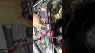 Налаштування струму ЭГРД ауді 100 с4 2.3 aar ke3-jetronic 1991р.в.
