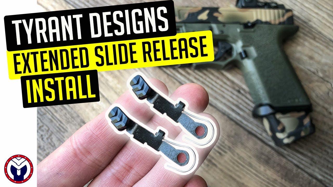 Tyrant Designs Slide Release Install | Musty Yeti