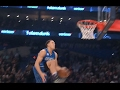Aaron Gordon Dunks With Assist From Intel Drone!   02.18.17