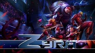 League of Legends: SKT T1 Zyra (HQ Skin Spotlight)
