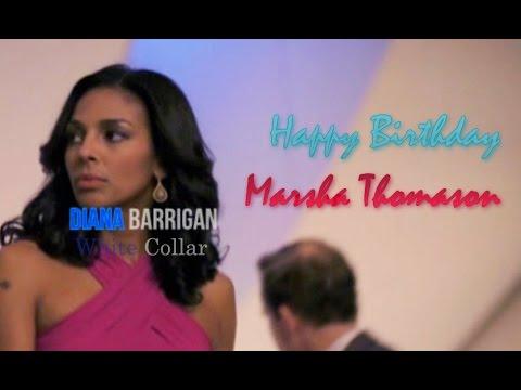 Diana Barrigan • White Collar Do It Like A Dude  ♢Happy Birthday Marsha Thomason♢