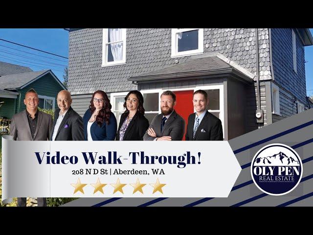 208 N D St | Aberdeen, WA | Video Walk-Through