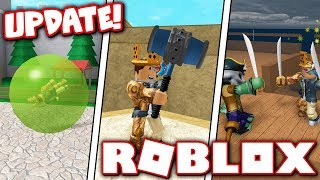 BAN HAMMER & PIRATES IN EPIC MINIGAMES UPDATE!! (Roblox)