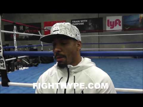 ANDRE WARD SPEAKS PASSIONATELY ABOUT CRITICISM AND GETTING CREDIT WITH WIN OVER KOVALEV