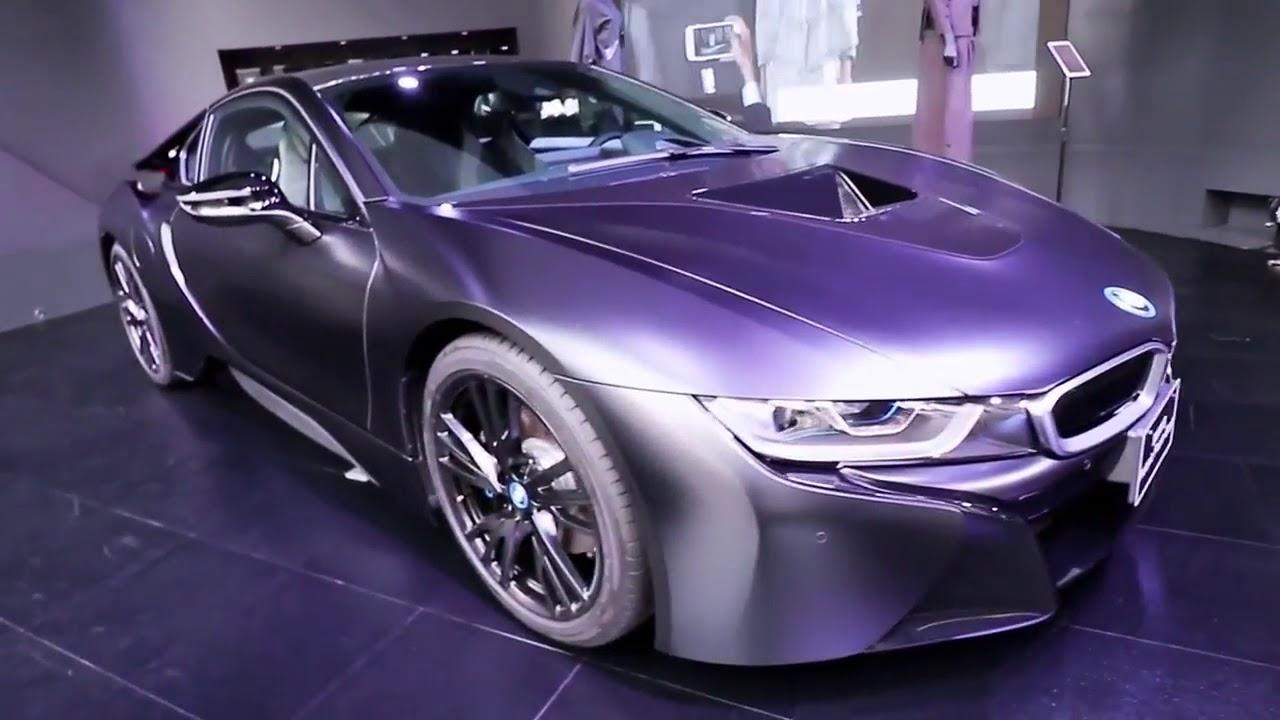 2017 Bmw I8 Frozen Black Protonic Edition Exterior Interior