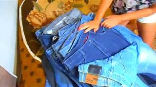 джинсы секонд хенд. Лучший товар для торговли