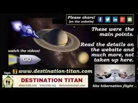 Destination Titan - a place like home