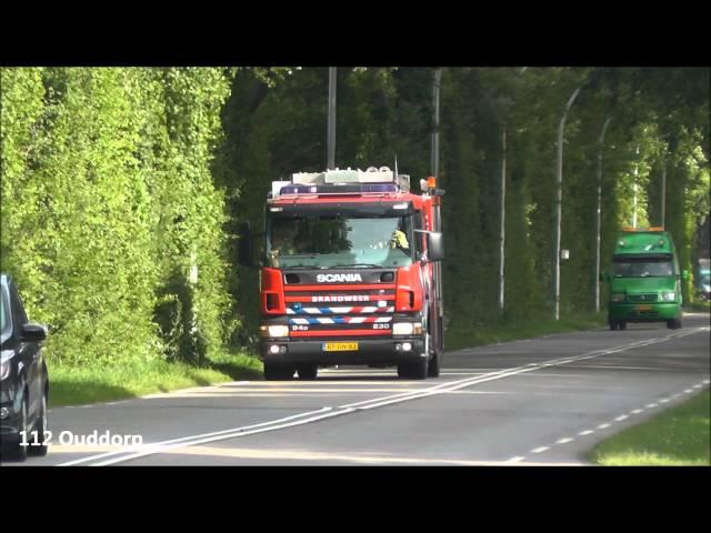 Brandweer Ouddorp TS71-1 met spoed naar opnieuw brand bij Hotel Koningspleisterplaats in Goedereede