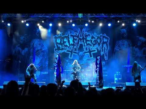 Belphegor - Conjuring The Dead / Pactum in Aeternum (Live Rockstadt Extreme Fest, Romania, 4.8.2018)