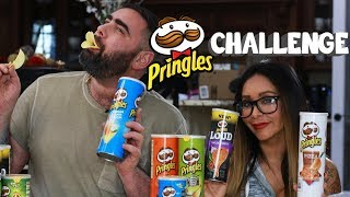 Trying Every Pringles Flavor
