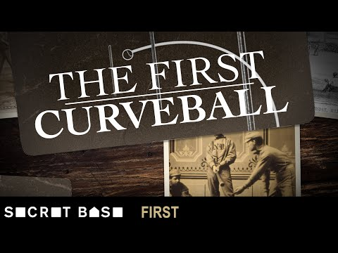 Baseball's first curveball was thrown underhand and inspired by seashells