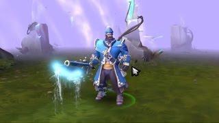 DOTA 2 - Inverse Bayonet ( Immortal Sword ) - Kunkka weapon