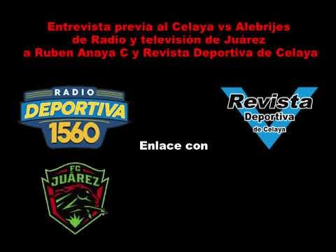 Recordando la entrevista de Radio Deportiva de Juárez a Revista Deportiva de Celaya