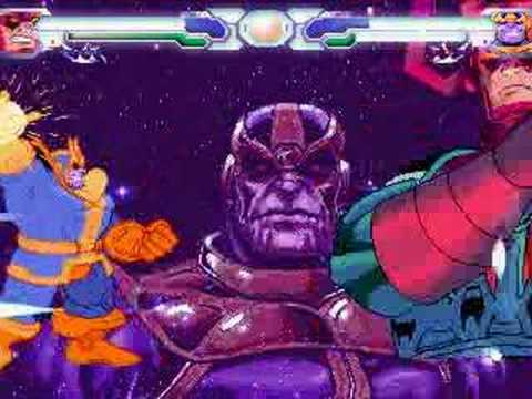 Infinity Gauntlet Part Ix Galactus Vs Thanos Youtube